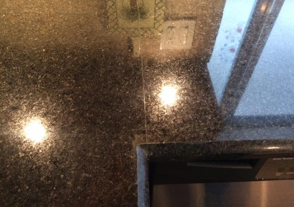 Countertop repair in Deal, New Jersey.