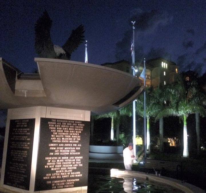 City of Marco Island, Fl. Marco Island Memorial Park Fountain project.
